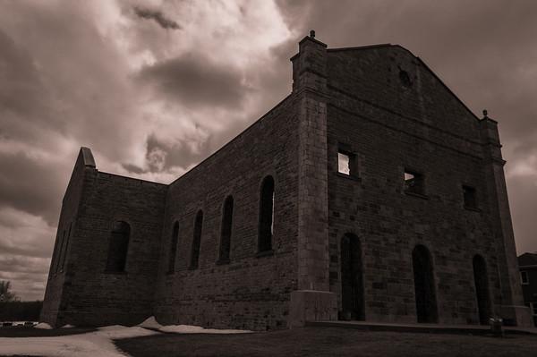 ruins of St.Raphael's church