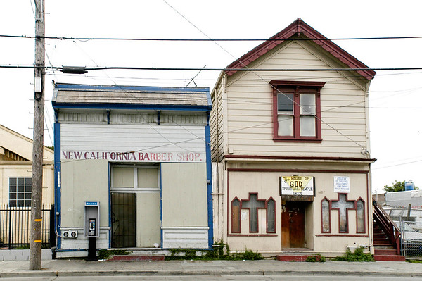 The New California Barber Shop and The House Of God Spiritual Temple