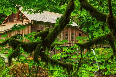 The Cedar Grist Mill Woodland, Washington