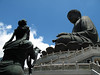 Tian Tan Buddha<br /> <br /> This massive buddha statue is located on Lantau Island near Hong Kong.