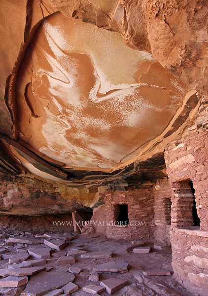 Fallen Roof<br /> <br /> Hidden in the forested canyons of southwestern Utah are a plethora of Anasazi ruins and granaries.