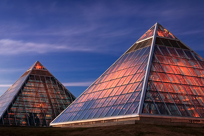 Muttart Pyramids