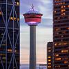 Calgary Tower Portrait