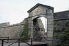 City Gate - Portón de Campo - and the wooden drawbridge along the Bastión de San Miguel -  Colonia del Sacramento town.