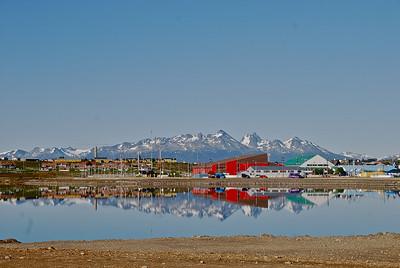 Reflections of Ushuaia