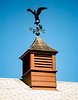 Original cupola & weather vane - 1994