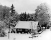 HH Ranch house after winter storm - ca. 1987
