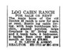 Classified Ad for the Ranch house - October 25, 1973