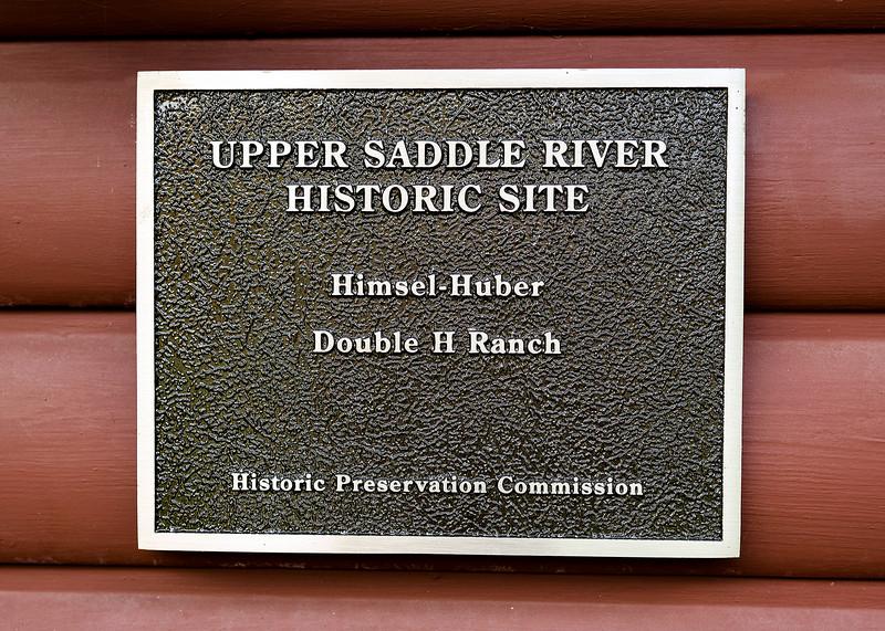 Double H Ranch - USR Historic Site plaque - 2015