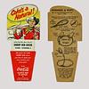 Coca-Cola 6 pack insert - Sheriff Bob Dixon circa 1951