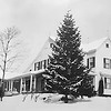 The Gardiner house in snow - 1923