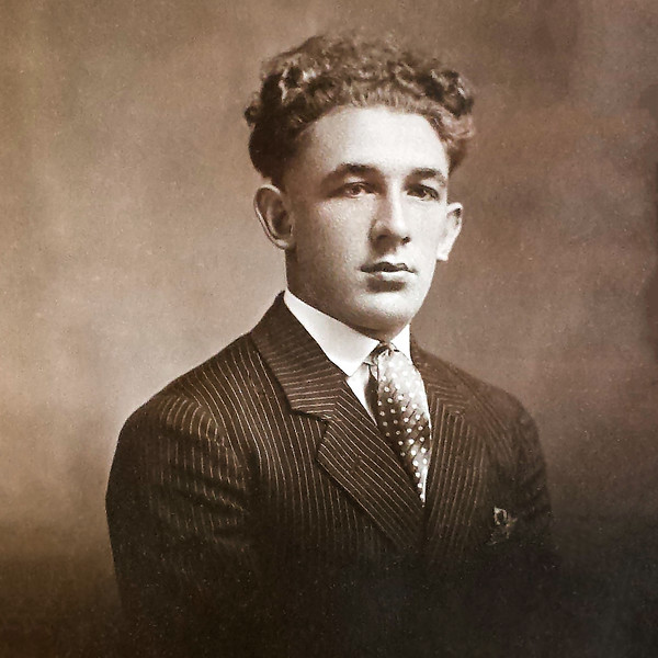 Double H Ranch founder Harry Himsel at 16 (1900 - 1986)