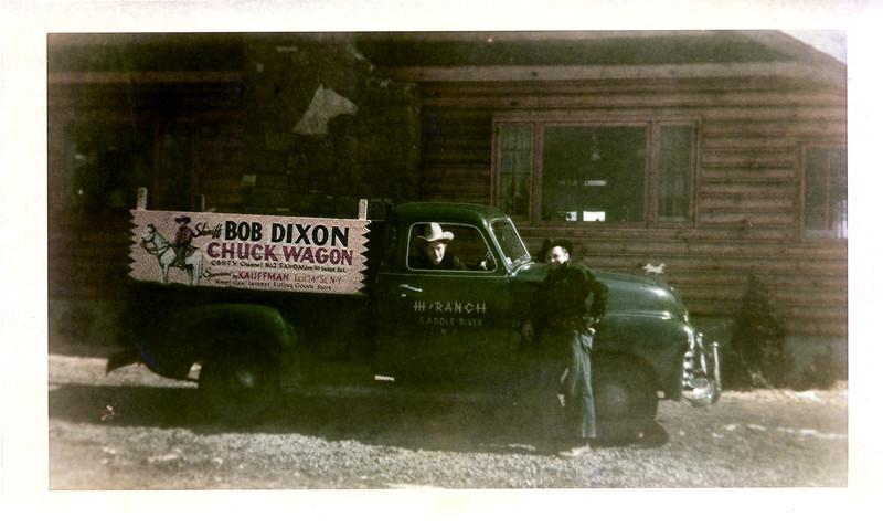 Bob Dixon Chuck Wagon - June 1950