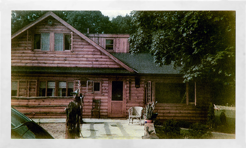 Front view of the Double H Ranch house - September 1949