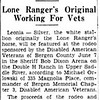 Lone Ranger's horse Silver - The Record - June 3, 1953
