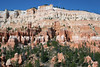 """Pink Cliffs"" of the Paunsaugunt (pawn-suh-gant) Plateau - part of the ""Grand Staircase"" (an immense sequence of sedimentary rock layers that stretch south from Bryce Canyon National Park, through Zion National Park and into the Grand Canyon).  It is comprised up the the these Pink Cliffs, then the Grey, White, Vermilion, and Chocolate Cliffs."