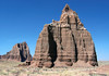 Southern view of the Temple of the Moon and Temple of the Sun (background) - Capitol Reef National Park