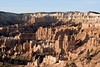 Sunrise light upon the hoodoos and fins - Wall of Windows - Inspiration Point - Bryce Canyon National Park