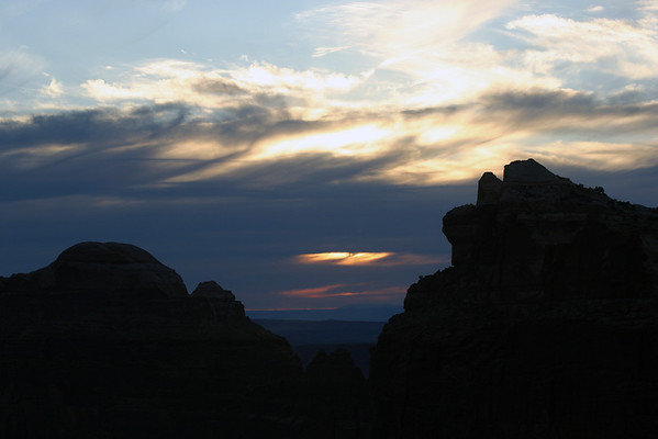 Sunset from Muffin Butte - Canyonlands National Park