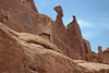 Erosion sculpting of the Entrada sandstone - Arches National Park