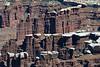 Monument Basin - White Rim sandstone caps - atop the Organ Rock shale - Canyonlands National Park