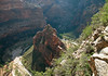 From the Angels Landing Trail - down to The Organ - and the Big Bend (of the North Fork Virgin River) - to the confluence of the Zion Canyon with the mouth of the Echo Canyon - Zion National Park