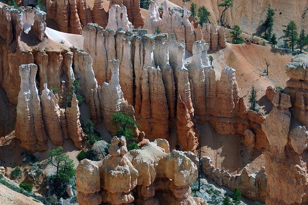 Hoodoos in the Queen's Garden - Bryce Canyon National Park