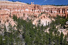 Silent City - from the Peekaboo Loop Trail - to the Bryce Canyon rim, which ranges from 8,000-9,000 ft. (2,440-2740 m) in elevation - Bryce Canyon National Park