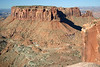 """Junction Butte - from the southern end of """"Island in the Sky Mesa"""" - Canyonlands National Park"""