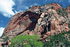 North slope of Burnt Mountain, composed of Navajo sandstone - along the La Verkin Trail (towards Holob Arch) - Zion National Park