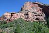 North point of Burnt Mountain - along the La Verkin Trail (towards the Kolob Arch) - Zion National Park