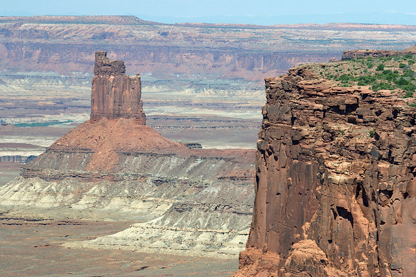From the Island in the Sky Mesa - to Candlestick Tower - Canyonlands National Park