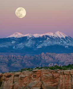 Moonrise Layers, Moab, Utah