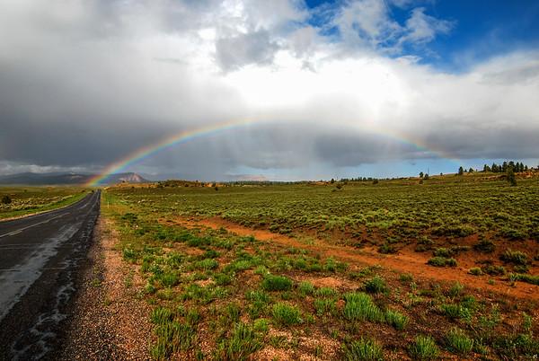 Paunsaugunt Plateau Rainbow