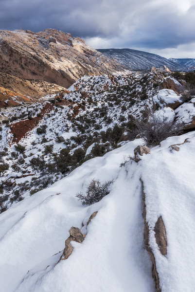 Known for our dinosaur fossils and interesting geology, Uintah County is also home to some stunning and unique landscapes. Although our climate is fairly arid, we do get the occasional heavy snowfall down in the basin which adds a new level of contrast to our landscapes.
