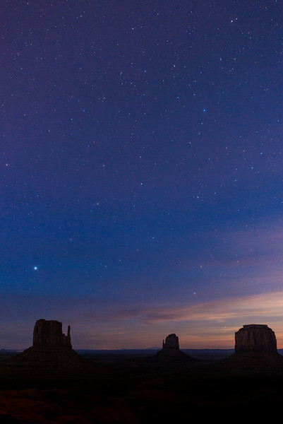 Night Sky, Monument Valley