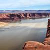 Water Between Cliffs