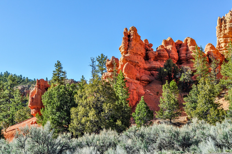 Red Sandstone Towers