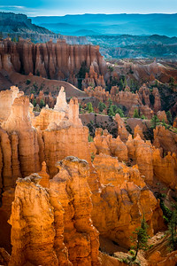 Hoodoos and trails