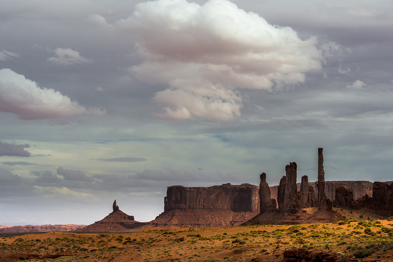 Totems, Monument Valley