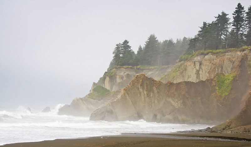 Pacific coast above Duck Creek