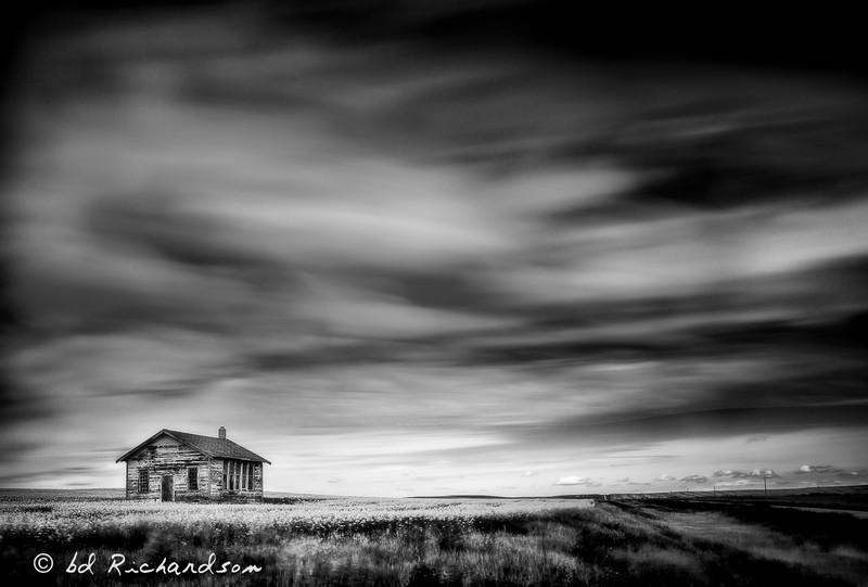 Schoolhouse on the Plain