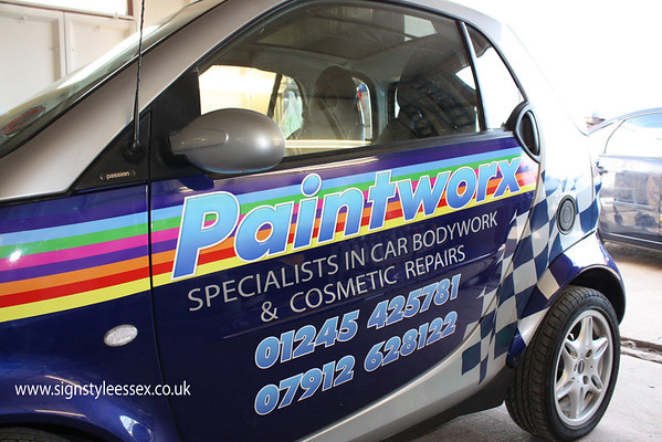 Paintworx Smart Car