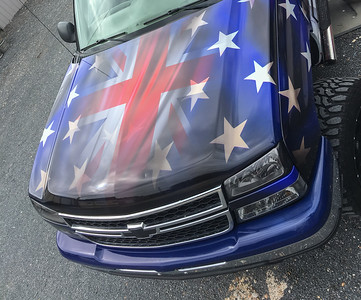 American Muscle Cars UK Chevrolet Wrap