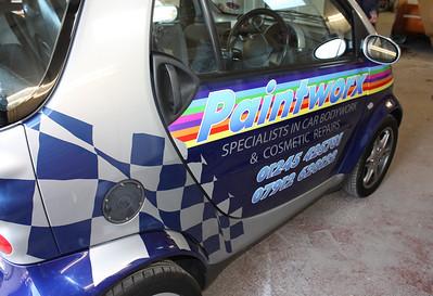 Paintworx Smart Car