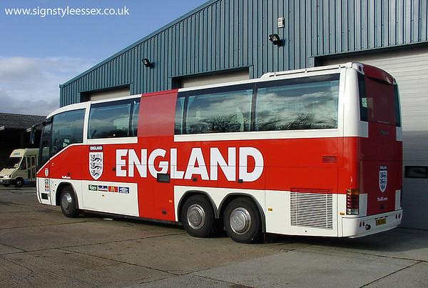 England Footbal Team Coach