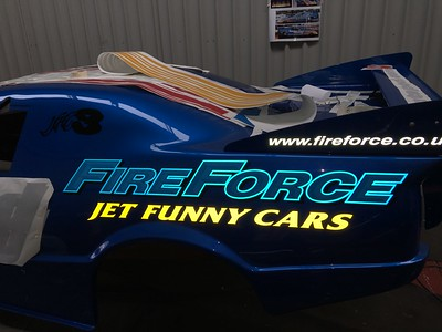 Fireforce Jet Car 2018