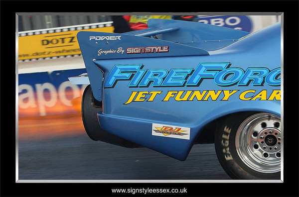 Fireforce Jet Car