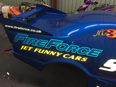 Fireforce Jet Car