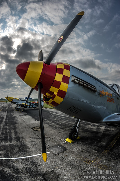 Fighter Nose  Photography by Wayne Heim